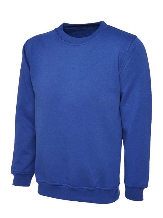 UC203 sweatshirt en bleu royal