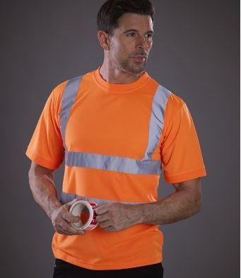 yk010 t-shirt haute visibilite
