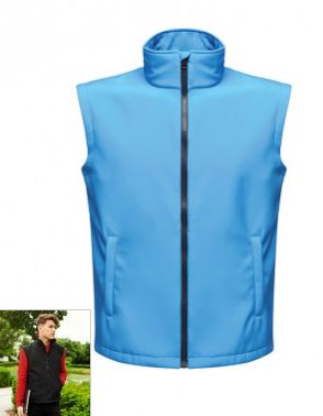 rg633 veste soft shell sans manches